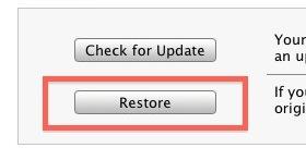 Clean Install iOS on iPad