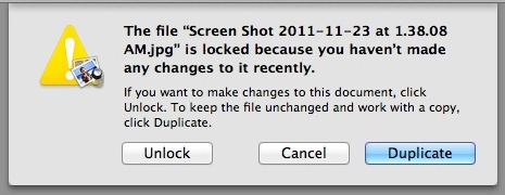 File locking in Mac OS X