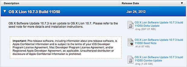 OS X 10.7.3 11D50