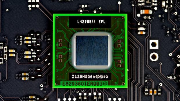 Thunderbolt display chip