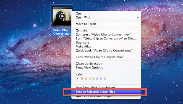 Video to Audio Converter in Mac OS X Lion