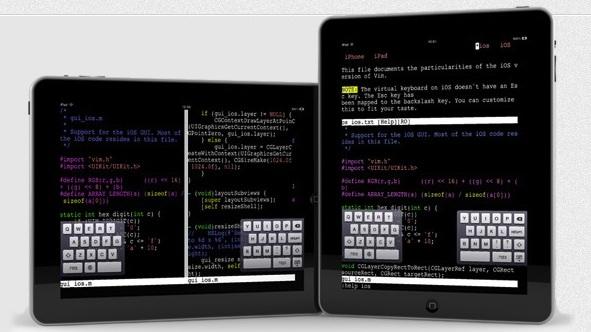 Vim for iPad