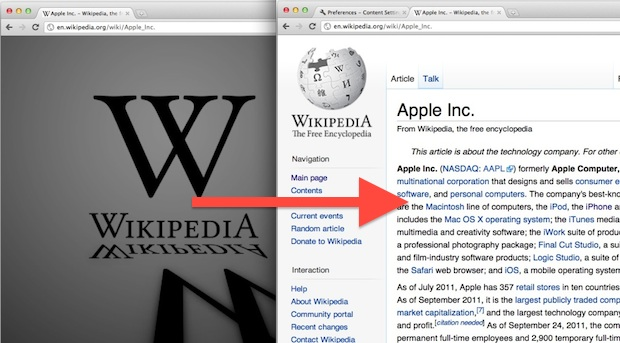 Use Wikipedia during SOPA blackout