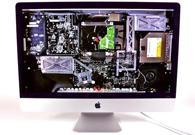 X-Ray iMac wallpaper