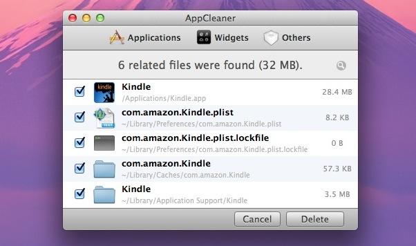 Delete Mac App with AppCleaner