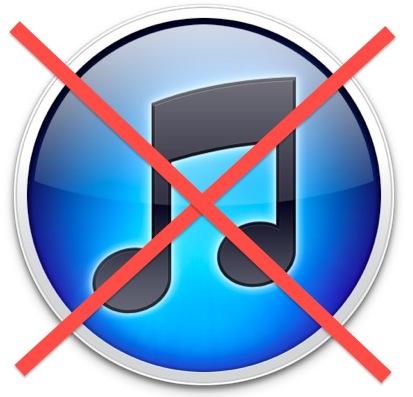 Delete iTunes