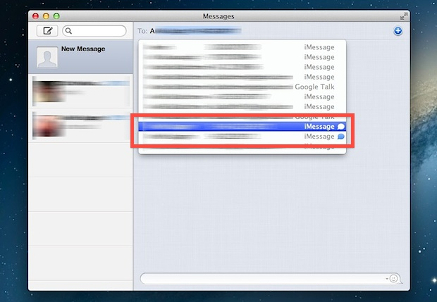 Discover iMessage Users in Mac OS X