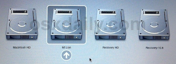 Dual Boot OS X Lion & OS X Mountain Lion