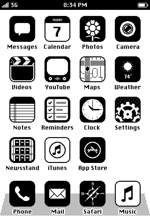 retro iOS