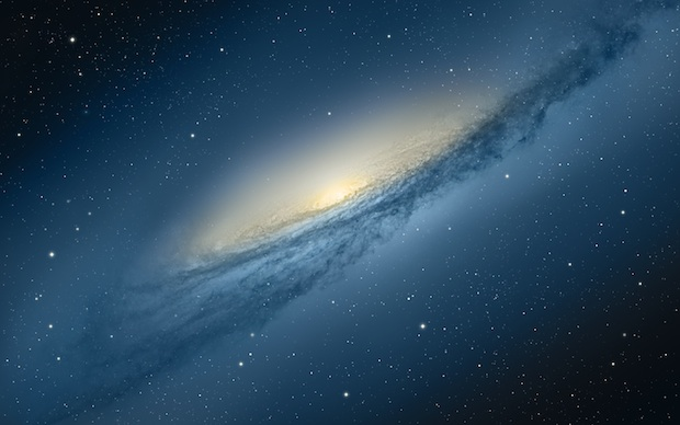 OS X Mountain Lion Galaxy Wallpaper