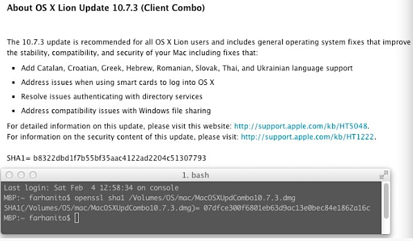 OS X 10.7.3 Quietly Revised?