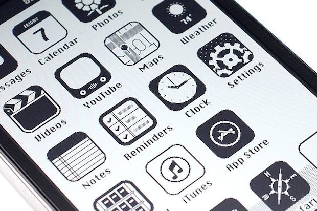 Retro  iPhone iOS 1986