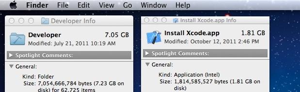 Uninstall Xcode