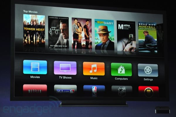 New Apple TV UI