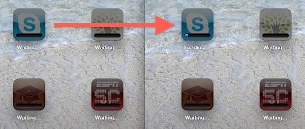 Apps Stuck on Waiting