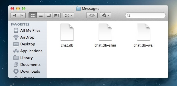 Clear iMessage Chat History