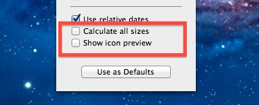 Disable Calculate Sizes