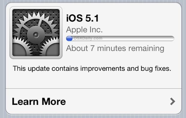 iOS 5.1 Download