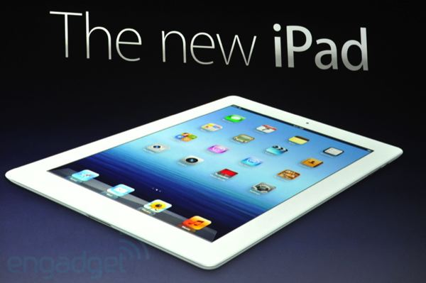 Pre-Order the New iPad, release date of March 16