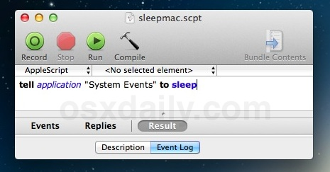 Remote Sleep a Mac