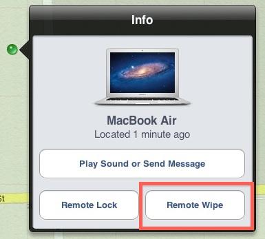 Remote Wipe a Mac
