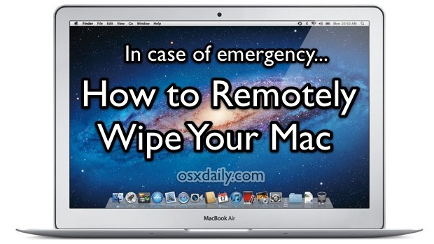 How to Remotely Wipe a Mac