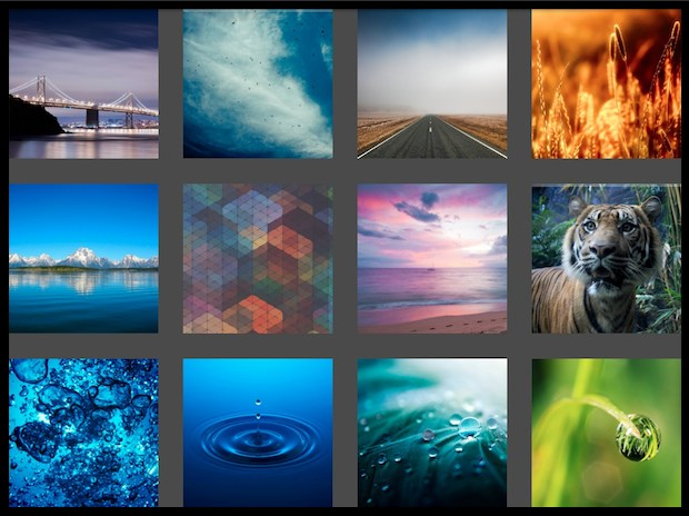 Retina iPad wallpapers