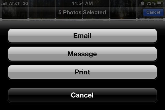 Send Multiple Pictures from an iPhone or iPad