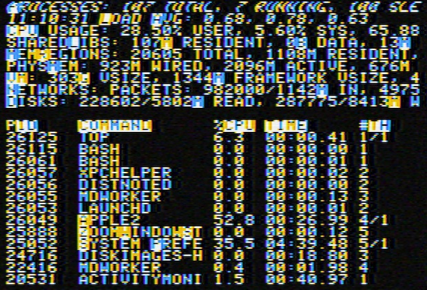Apple II Screen Saver