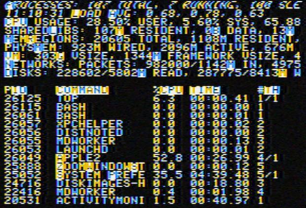Apple II Screen Saver