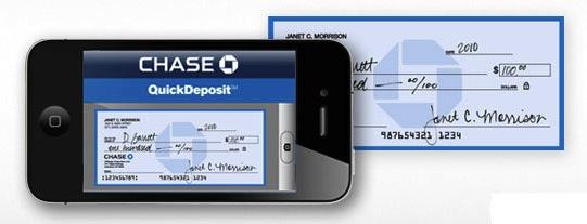Chase Mobile deposit app