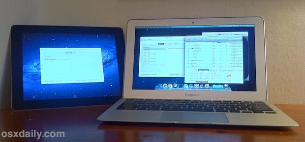 iPad as an External HIDPI Display with a MacBook Air