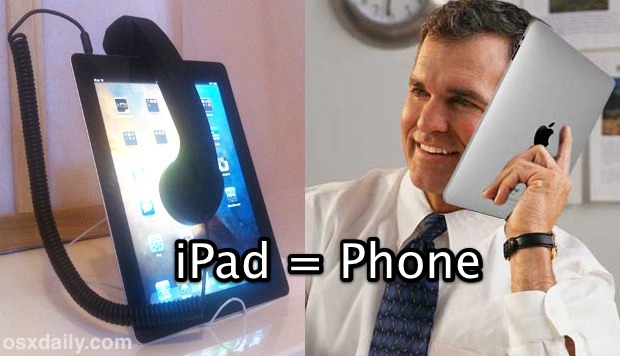 Use the iPad as a Phone