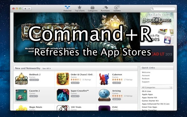 Refresh App Store