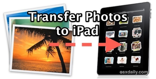 Transfer Photos to iPad