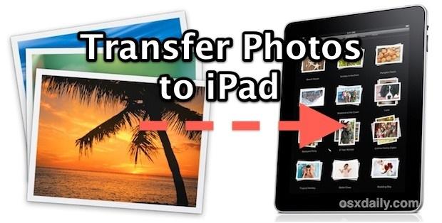 Transfer Photos to iPad
