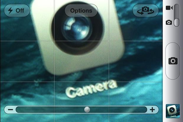 Zoom iPhone Camera