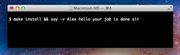 Announce the completion of a command in Mac OS X Terminal