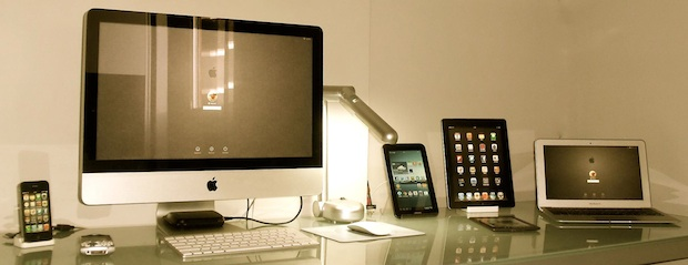 Mac Setup with an iMac, Galaxy Tab, iPad, and more
