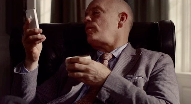 iPhone 4S commercials with John Malkovich