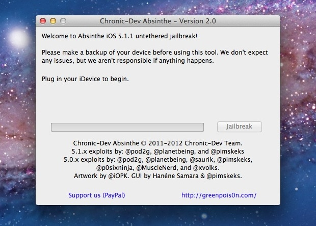 How to Jailbreak iOS 5.1.1 with Absinthe 2.0