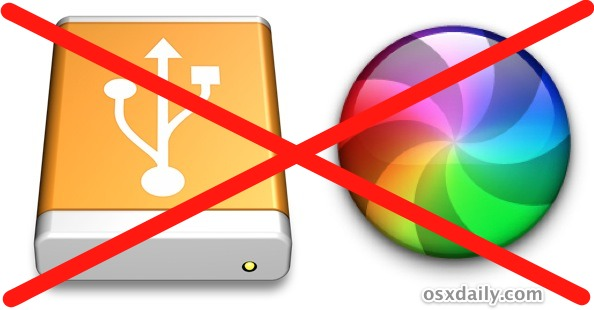 Prevent an External Hard Drive from Slowing Down Mac OS X