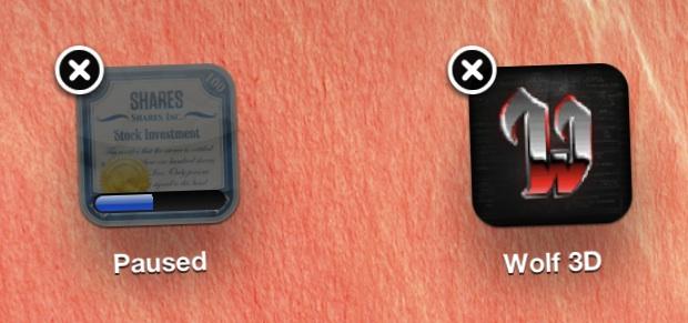 Stop an App Download in iOS