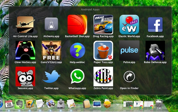 Run Android Apps in Mac OS X with BlueStacks