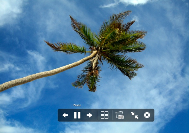Instant Slideshow from anywhere in OS X Finder