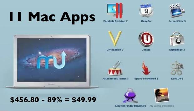 MacUpdate June 2012 Bundle for Mac Apps