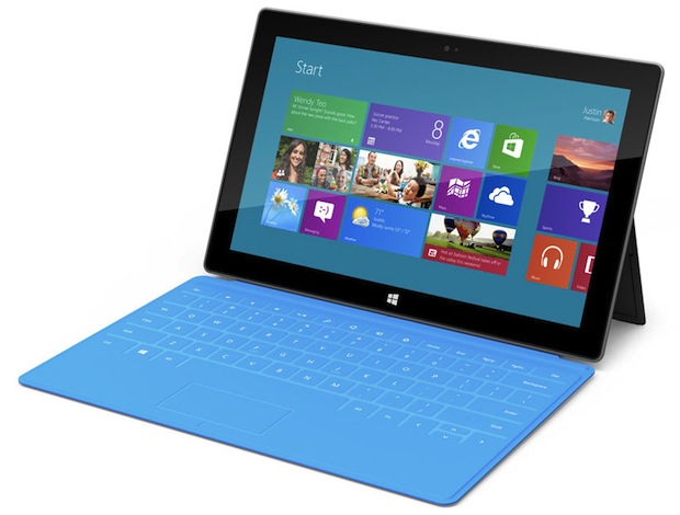 Microsoft Surface with Multitouch keyboard cover