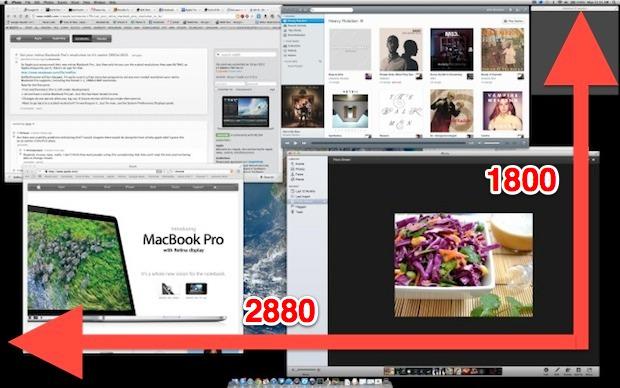 Retina MacBook Pro at 2880x1800 resolution