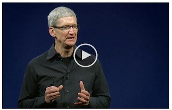 WWDC 2012 Keynote video
