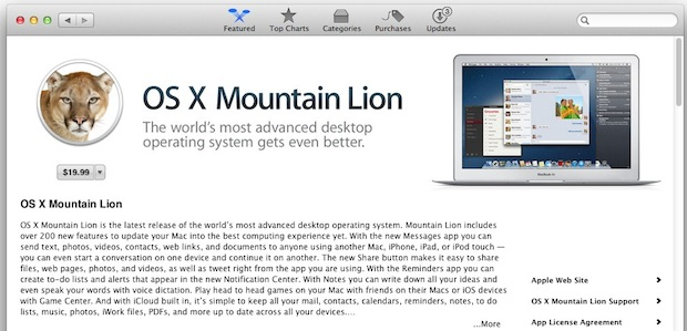 Buy Mountain Lion once and install or upgrade all personal Macs